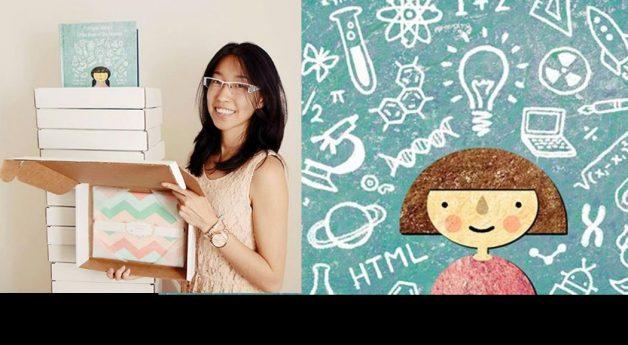 ICM alum creates STEM book for girls