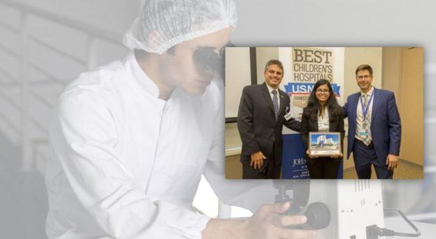 "Sanjukta Nandi-Bose, ICM PhD student, awarded ""Best Abstract"""